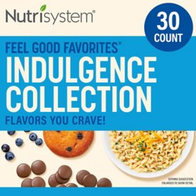 Nutrisystem Feel Good Favorites Indulgence Collection
