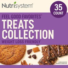 Nutrisystem Feel Good Favorites Treats Collection