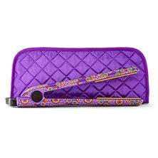 "CHI Sugar Plum 1"" Ceramic Hairstyling Iron with Quilted Clutch"