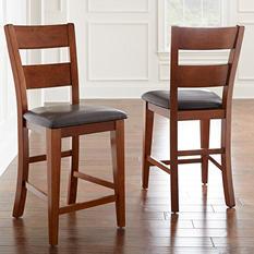 Weston Counter Height Chairs - Mango (2 pk.)