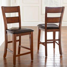 Ziva Counter-Height Chairs (2 pk.)