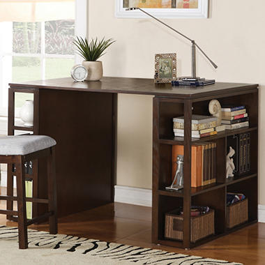 Emerson Task Table - Dark Oak