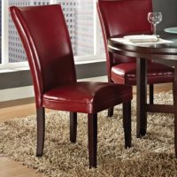 Harding Leather Parsons Chair 2 Pack, Assorted Colors