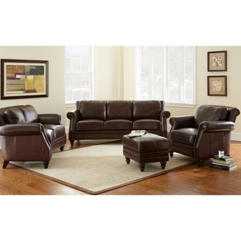 Bridford Leather Living Room Set - 4 pc.