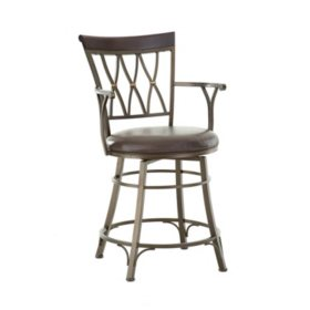 Bailey Swivel Counter Stool