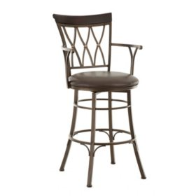 Bailey Commercial Grade Swivel Bar Stool