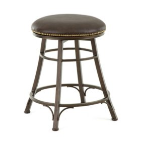 Bailey Backless Swivel Stool (Assorted Sizes)