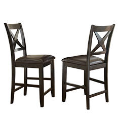 Victor Counter-Height Chairs, Set of 2