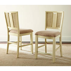 Maria Counter Chairs, Set of 2 (Assorted Colors)