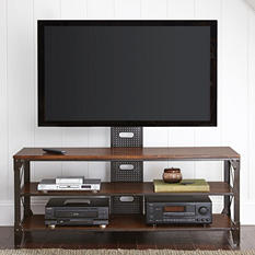 Weldon TV Stand with Mounting Bracket