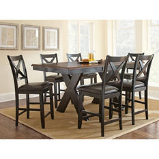 Victor Counter-Height 7-Piece Dining Set