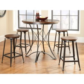 Alexia Counter-Height 5-Piece Dining Set