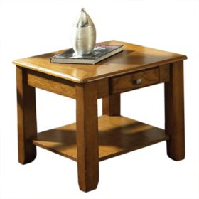 Logan Oak End Table