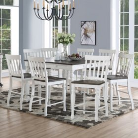 Jaiden Counter-Height Dining Set, 9 Pc.