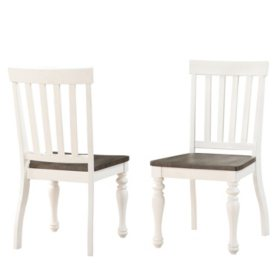 Jaiden Two-Tone Dining Chairs - 2 pack
