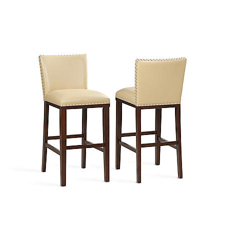 Tisbar Counter Stool, 2pk (Assorted Colors)