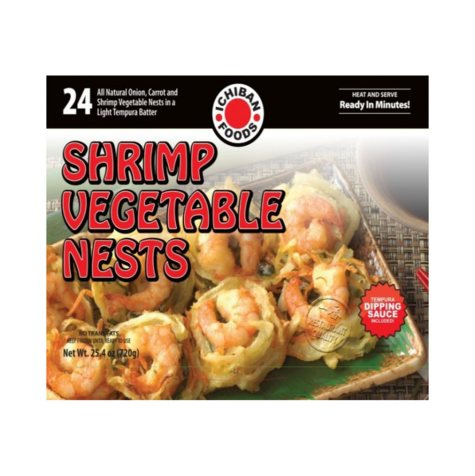 Shrimp and Vegetable Nests (24 ct.)