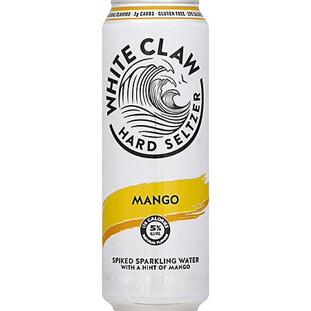 White Claw Hard Seltzer Mango (16 fl. oz. can, 24 pk.)
