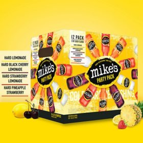 Mike's Hard Variety Pack (11.2 fl. oz. bottle, 12 pk.)