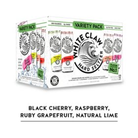 White Claw Hard Seltzer Variety (12 fl. oz. can, 12 pk.)