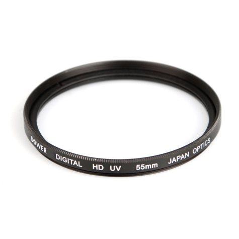 Digital High-Definition 55mm Ultraviolet (UV) Filter - Accessory