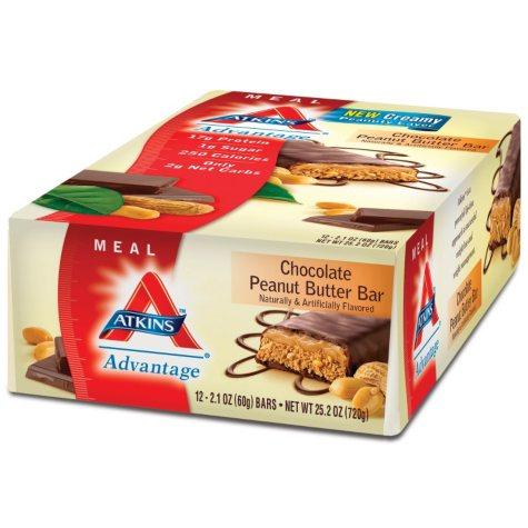 Atkins™ Advantage Chocolate Peanut Butter Bar - 12/2.1 oz.