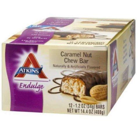 Atkins™ Endulge Caramel Nut Chew Bar - 12/1.2 oz.