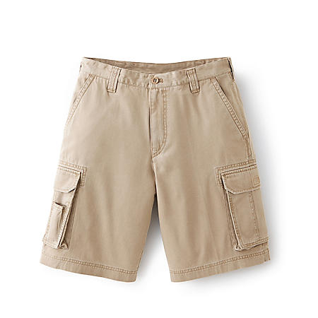 d69b1a9491 Men's Solid or Plaid Twill Cargo Short - Sam's Club