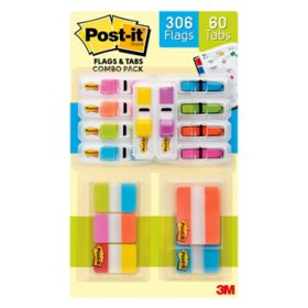 Post-it Flags and Tabs Combination Club Pack
