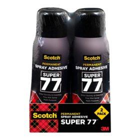 Scotch Multi-Purpose Adhesive, 10.7 oz, 2 Pack