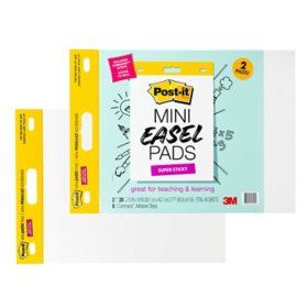 """Post-it Self-Stick Easel Pad, 15"""" x 18"""", 2/Pack (577SS-2PK-S)"""