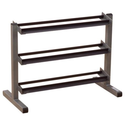 "Body Solid 40"" Wide 3-Tier Dumbbell Rack"