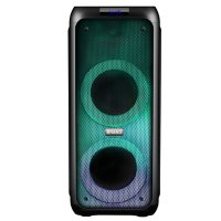 """Supersonic 2 x 5.5"""" Bluetooth Party Speaker with Light Show"""