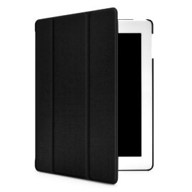 iLuv Slim Folio Cover for The New iPad - Black
