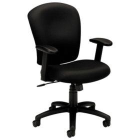 basyx by HON VL220 Mid-Back Task Chair, Black