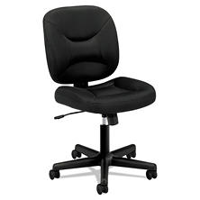 basyx by HON VL210 Mesh Low-Back Task Chair, Black
