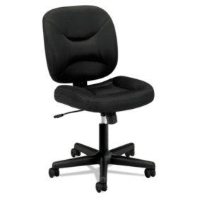basyx by HON VL210 Mesh Low-Back Task Chair, Black