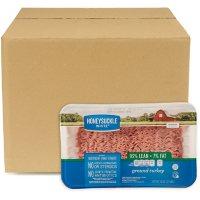 White Honeysuckle Lean Ground Turkey, Bulk Wholesale Case (30 lbs.)