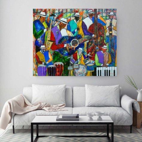 "Get Down Canvas Wall Art, 18"" x 24"""