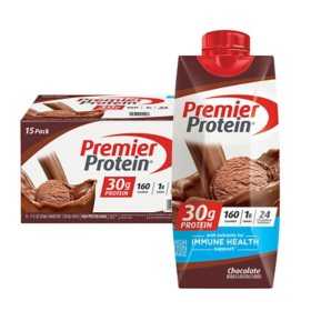 Premier Protein High Protein Shake, Chocolate (11 fl. oz., 15 pk)