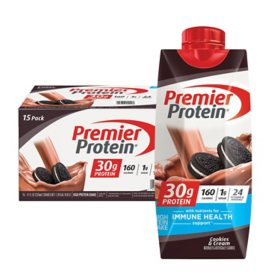 Premier Protein High-Protein Shake, Cookies and Cream (11 fl. oz., 15 pk.)