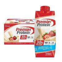 Premier Protein High Protein Shake, Strawberries & Cream (11 fl. oz., 15 pk.)