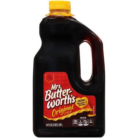 Mrs. Butterworth's® Original Syrup - 2/64 oz. jugs