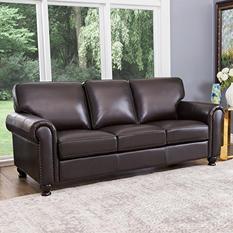 Maverick Top-Grain Leather Sofa