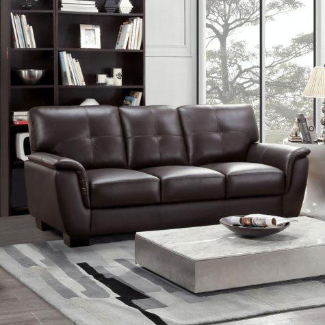 Liston Top-Grain Leather Sofa