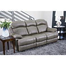Hamptons Top-Grain Leather Sofa
