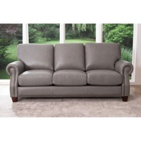 Helena Top-Grain Leather Sofa - Sam\'s Club