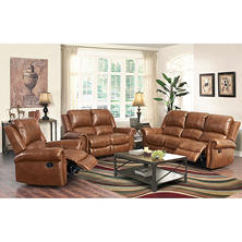 Winston Reclining Sofa, Loveseat and Chair Set
