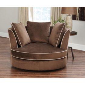 Cool Sydney Round Swivel Chair Sams Club Uwap Interior Chair Design Uwaporg