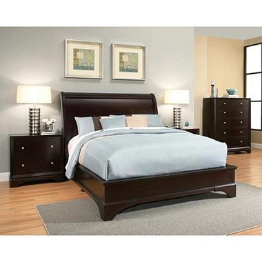 $2099.99 Hudson 6 Piece King Bedroom Furniture Set - dealepic